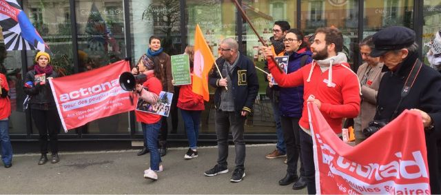 Mobilisation à Rennes