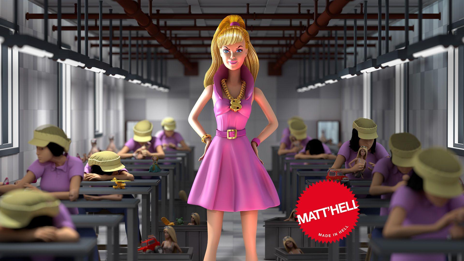 Barbie se moque des droits des femmes