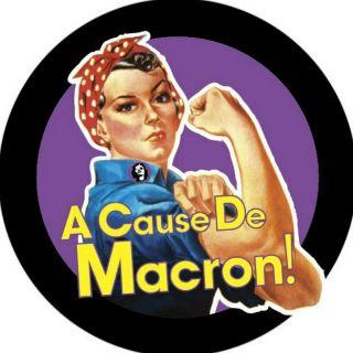 A cause de macron